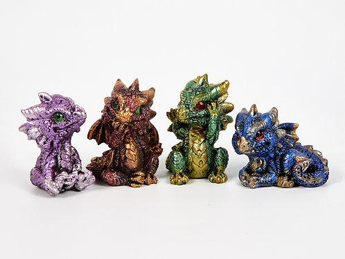 Cute Miniature Baby Dragon Figurines