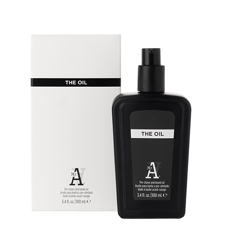 THE OIL PRE-SHAVE AND BEARD OIL