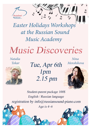 Easter fun workshops!