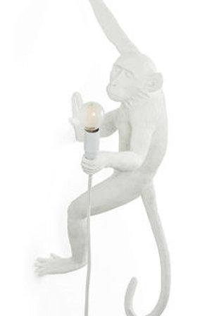 Applique singe blanc