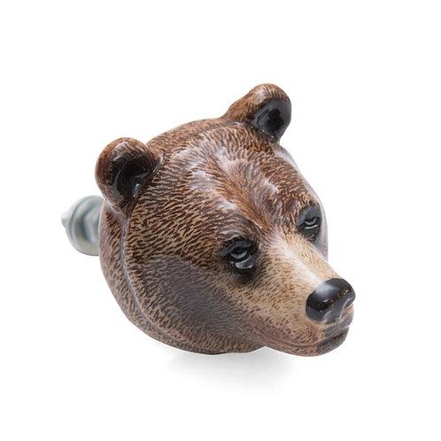 Bouton de meuble ours