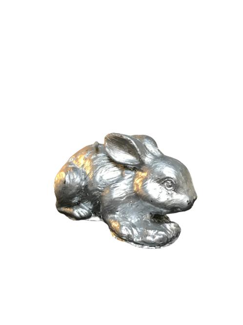 Bougie lapin argenté