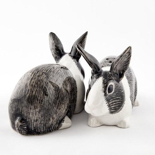 Salière poivrière lapin