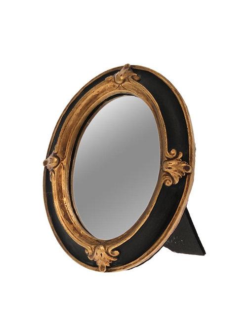 Petit miroir ovale