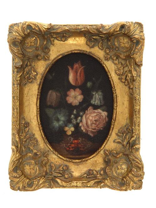 Petit cadre fleurs