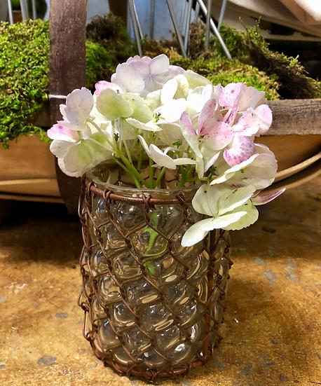 Smal Glass Flower Vase