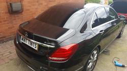 Mercedes C220 - 5% Limo Black Tint