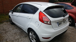 Ford Fiesta - 20% Dark Smoke Tint