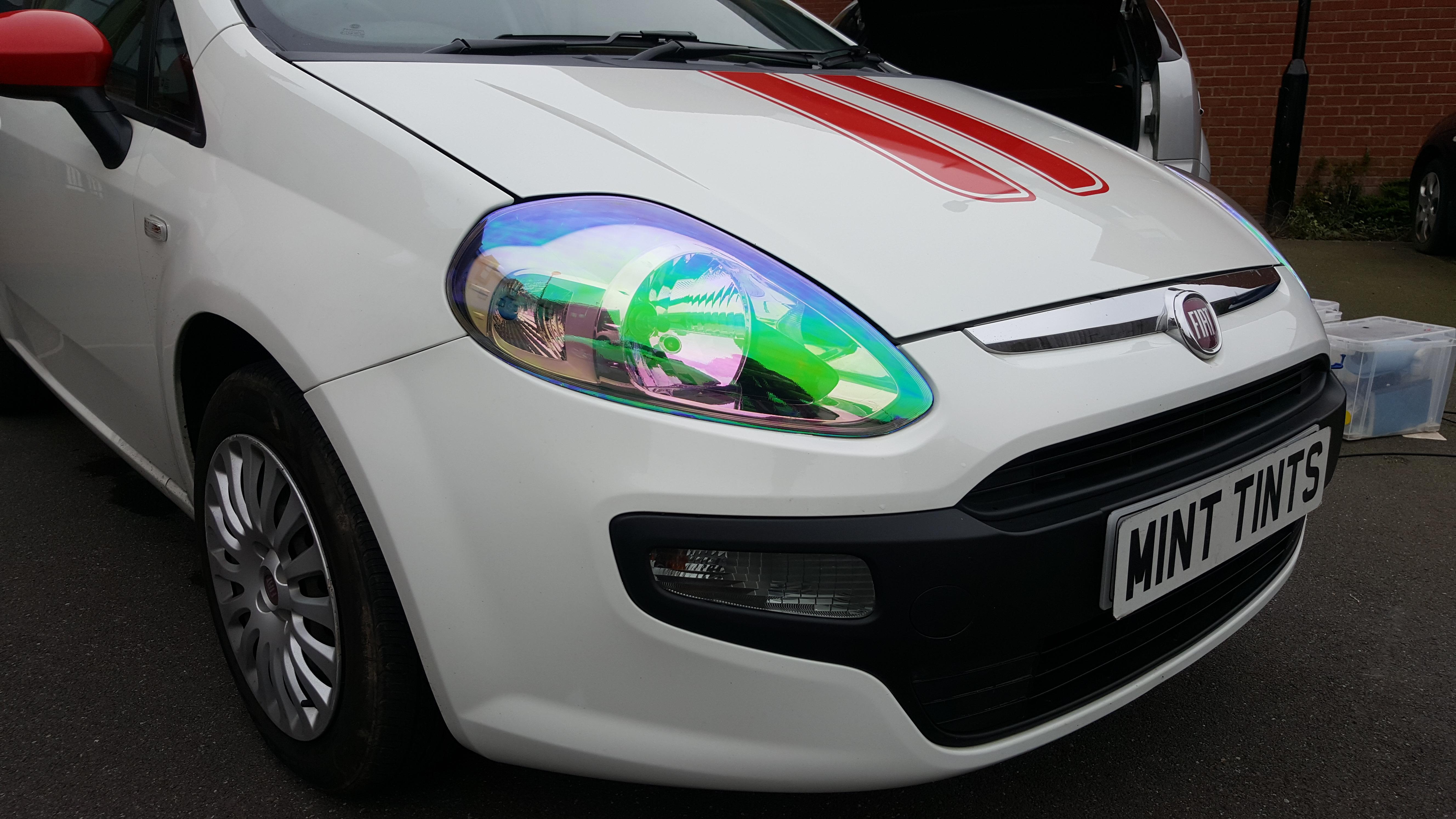 Fiat Punto - Chameleon Light Tint