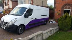 Renault Master Hexis Purple Wrap