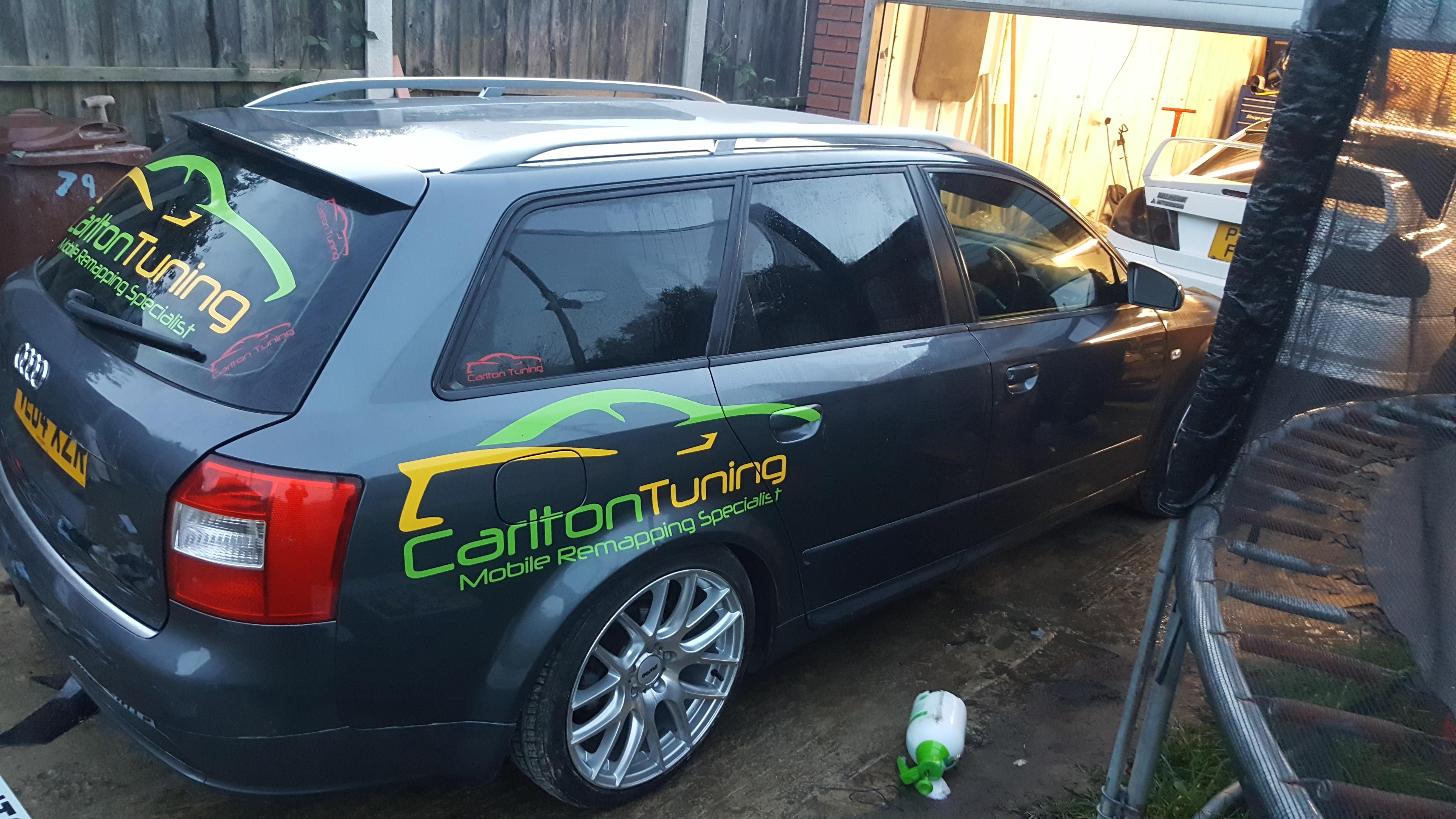 Audi A4 Estate B7 Window Tint