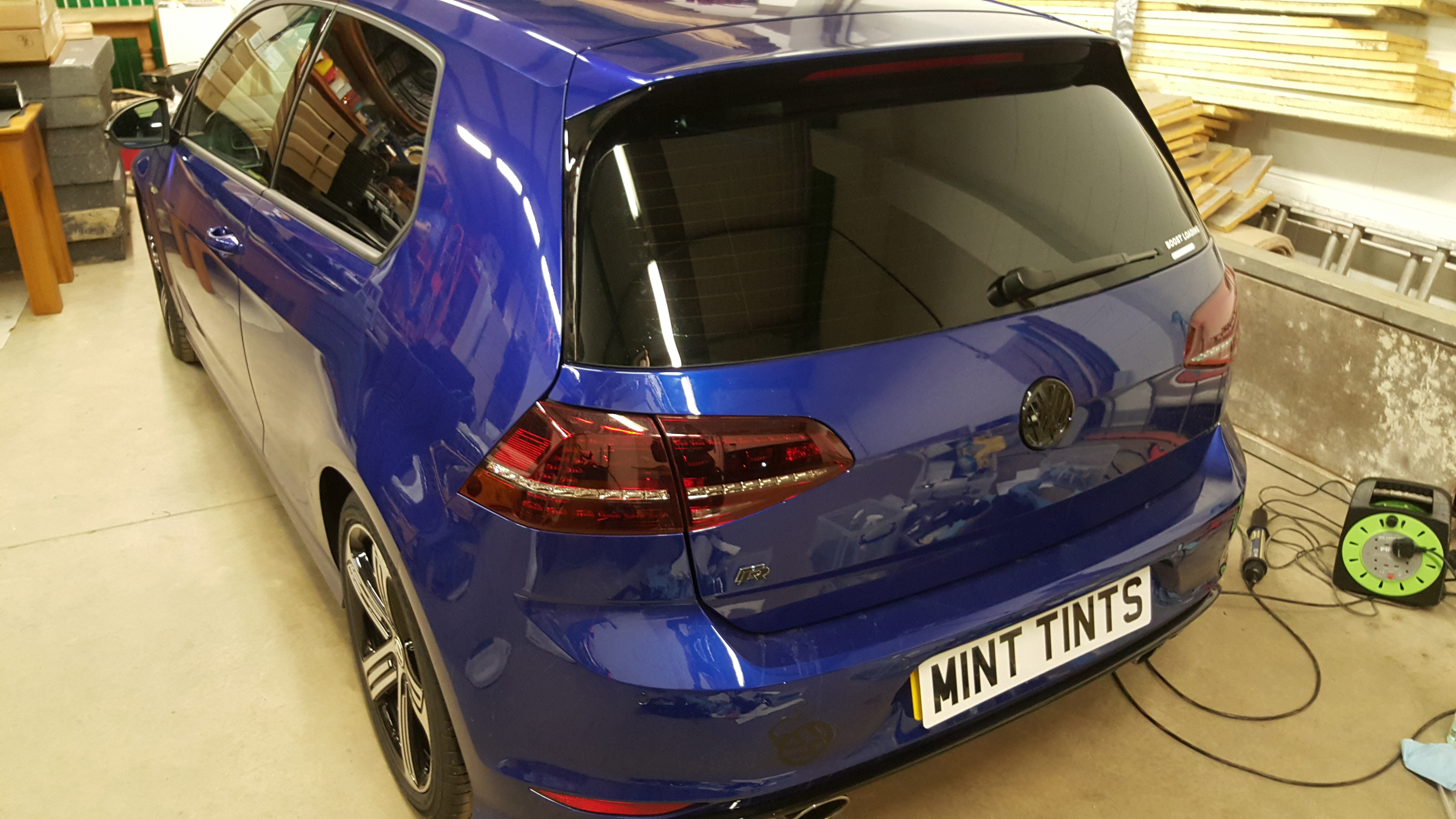 VW Golf R - 20% Dark Smoke Tints