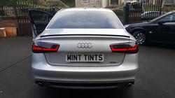 Audi A6 - Rear Dark Smoke Light Tint