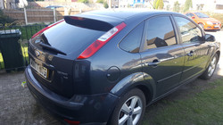 Ford Focus - 5% Limo Black Tint