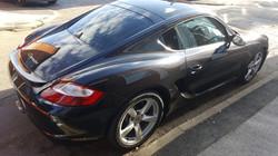 Porsche Cayman - 5% Limo Black Tint