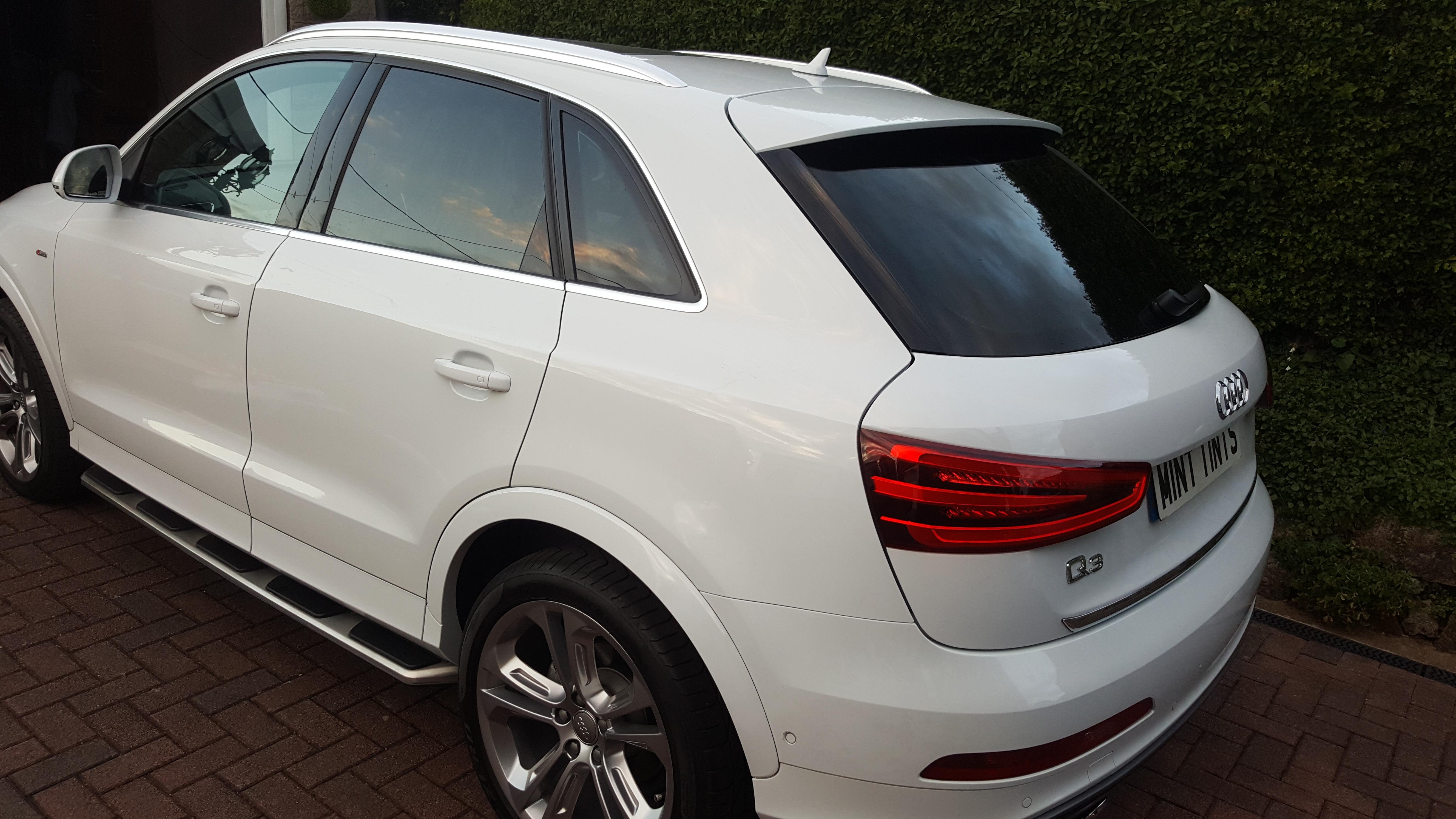 Audi Q3 - 20% Dark Smoke Tint