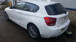 BMW 1 Series - 20%Dark Smoke Tint