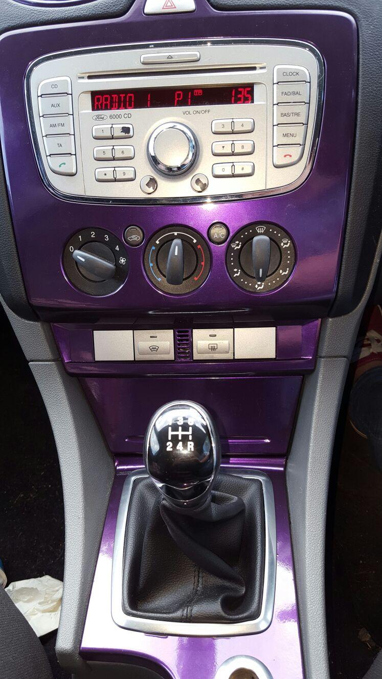 Purple/Black Iridescent Gloss Wrap