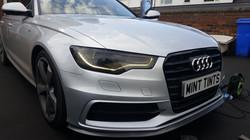 Audi A6 - Headlight Dark Smoke Tint