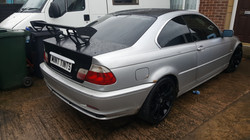 BMW E46 WIndow Tint