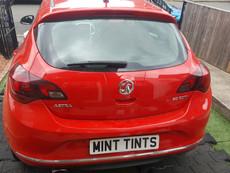 Vauxhall Astra Rear Tint