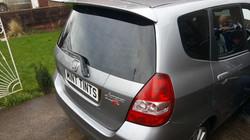 Honda Jazz Rear Window Tint