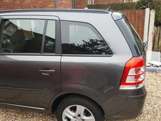 Vauxhall Zafira - 20% Dark Smoke