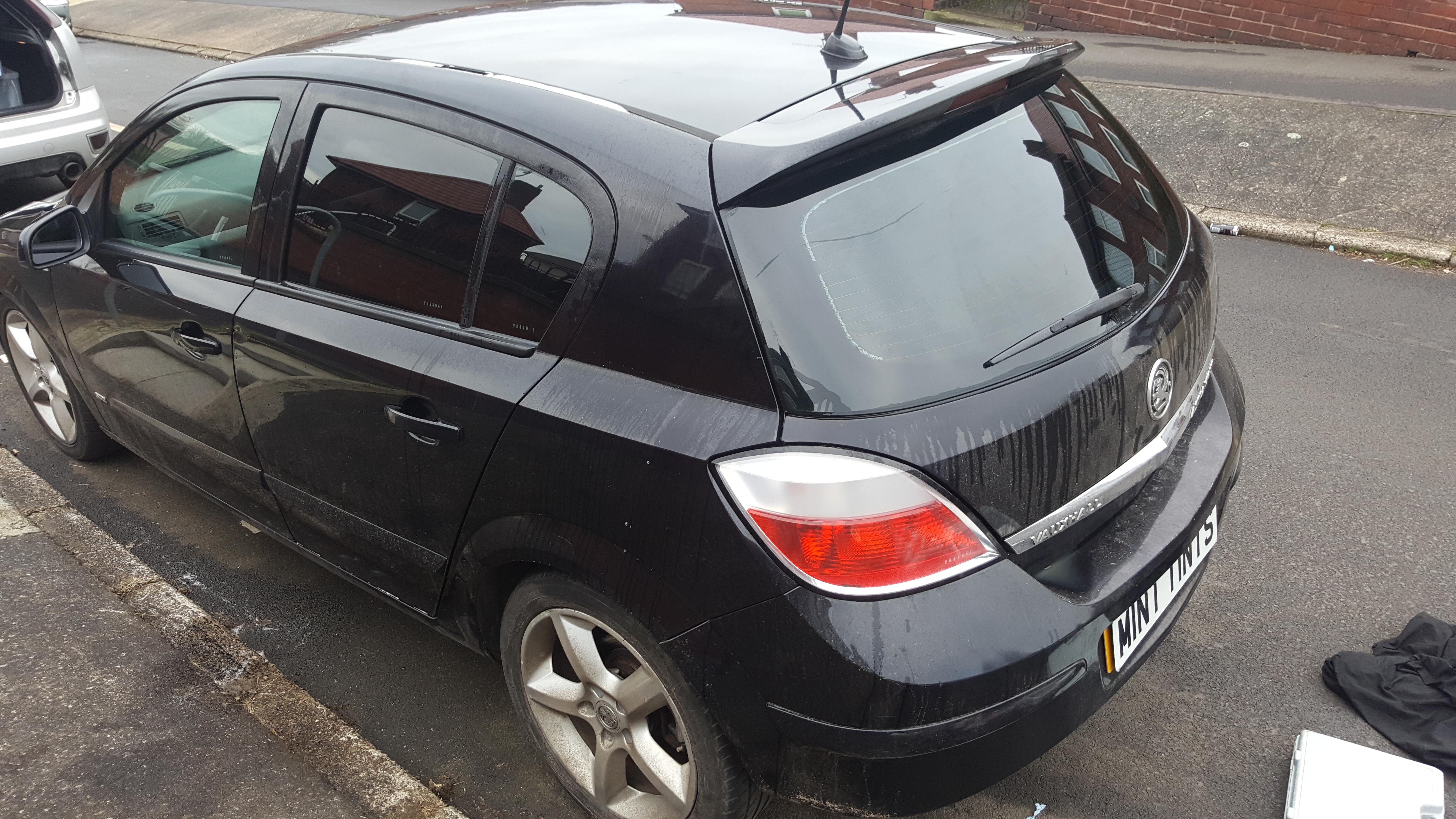 Vauxhall Astra - 5% Limo Black Tint