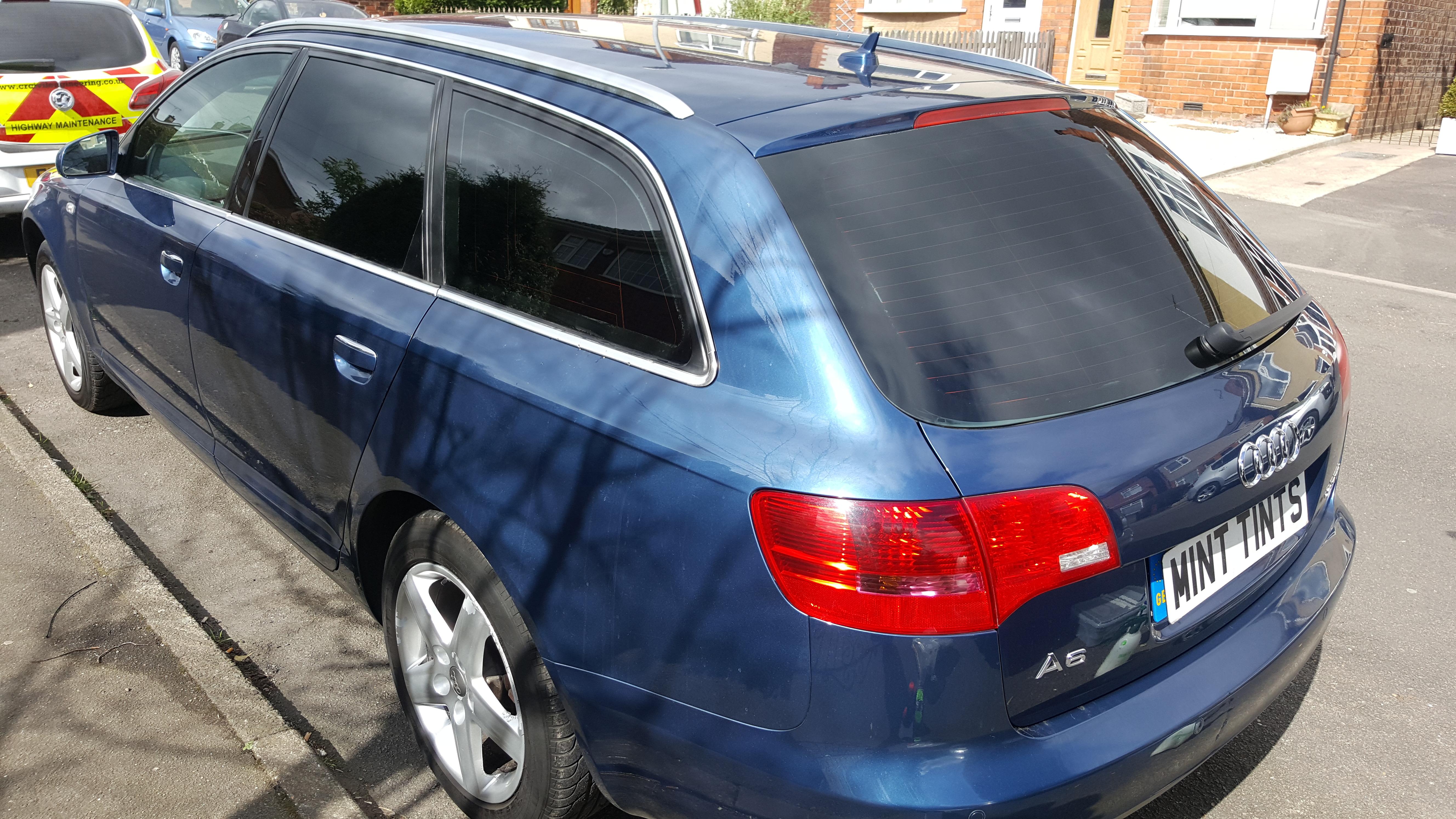 Audi A6 Avant - 5% Limo Black Tint