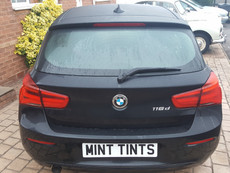 BMW 1 Series Limo Black Window Tint