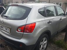 Nissan Qashqai Window Tint