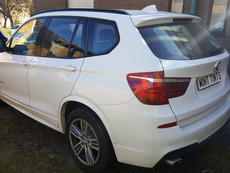 Another BMW X3 Window Tint