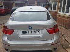 BMW X6 Rear Window & Ligt Tint & Roof Wrap