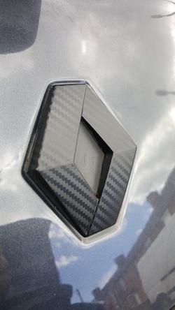 Badge Emblem Wrap - Carbon Fibre