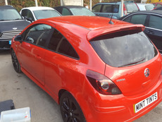 Vauxhall Corsa Roof Wrap