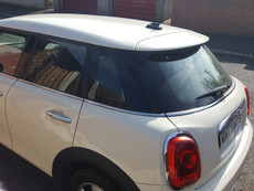 Mini One Window Tint & Roof Wrap