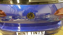 VW Badge Emblem Gloss Black