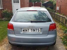 Audi A3 Window Tint