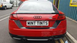 Audi TT Badge Wrap