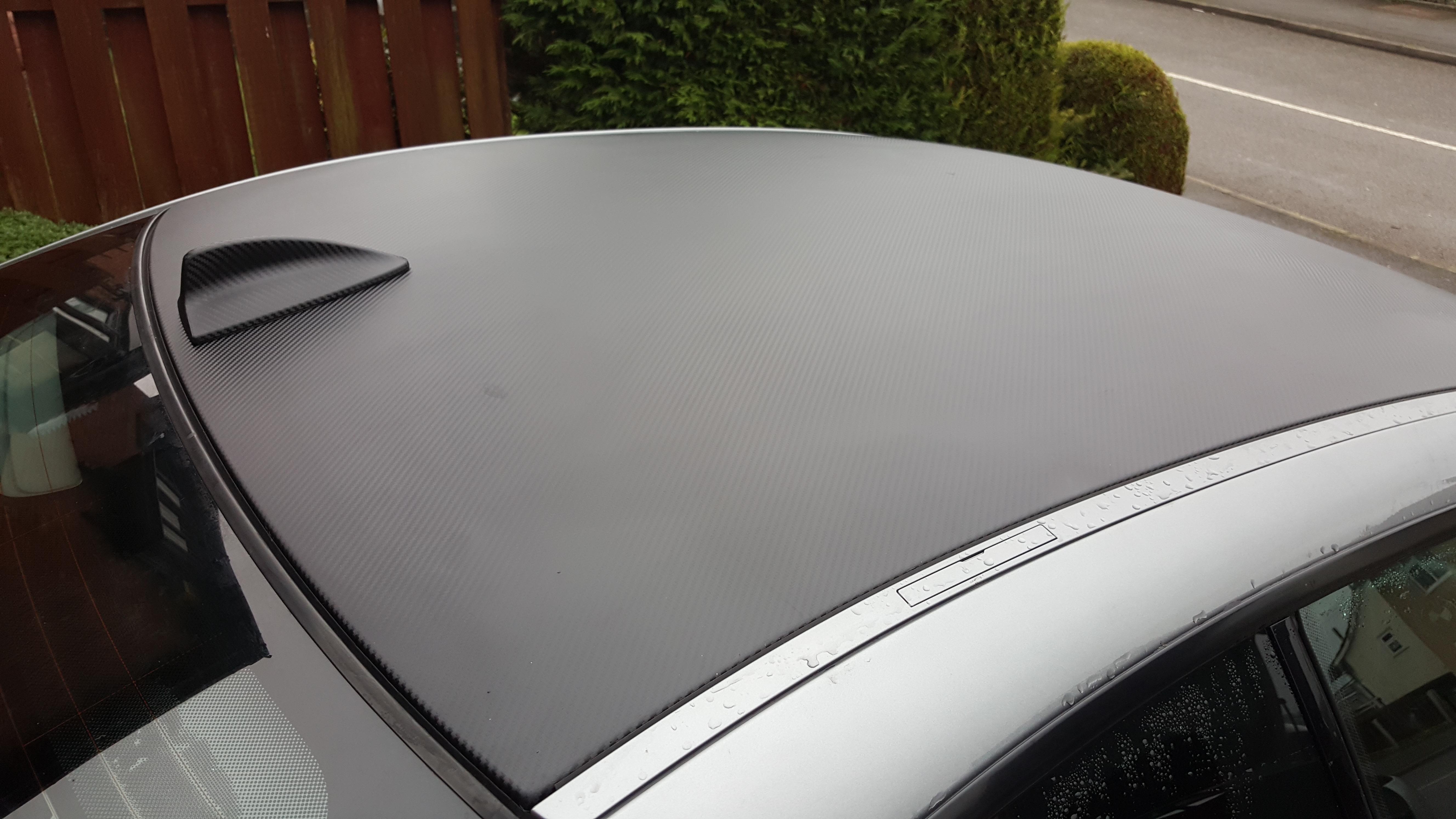 BMW Carbon Fibre Roof Wrap