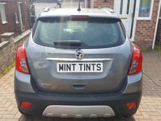 Vauxhall Mokka Rear Window Tint