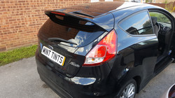 Ford Fiesta - 5% Limo Black Tint