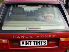 Range Rover P38 Window Tint