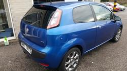 Fiat Punto - 5% Limo Black Tint
