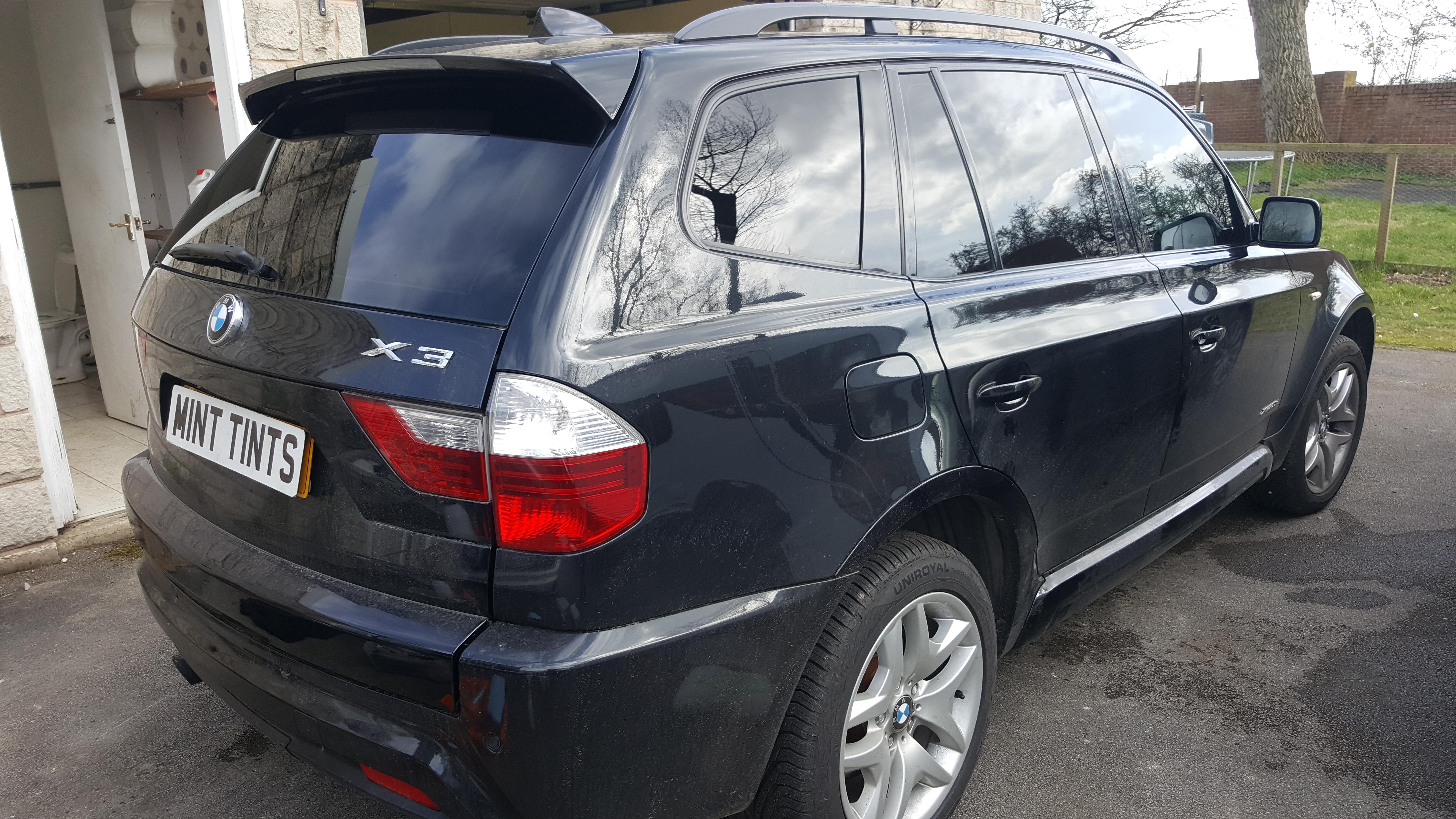 BMW X3 - 5% Limo Black Tint