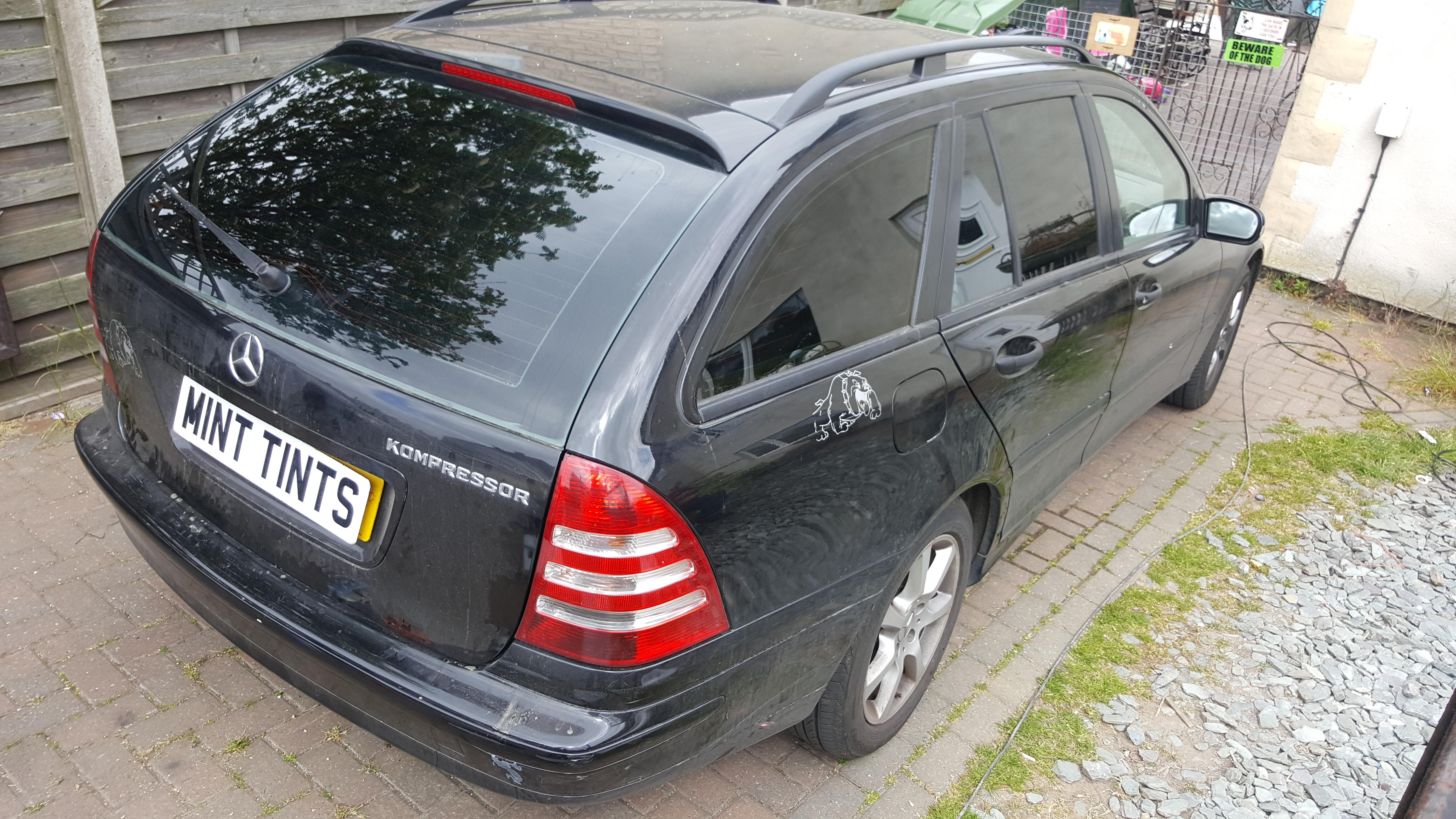 Mercedes Estate - 5% Limo Black
