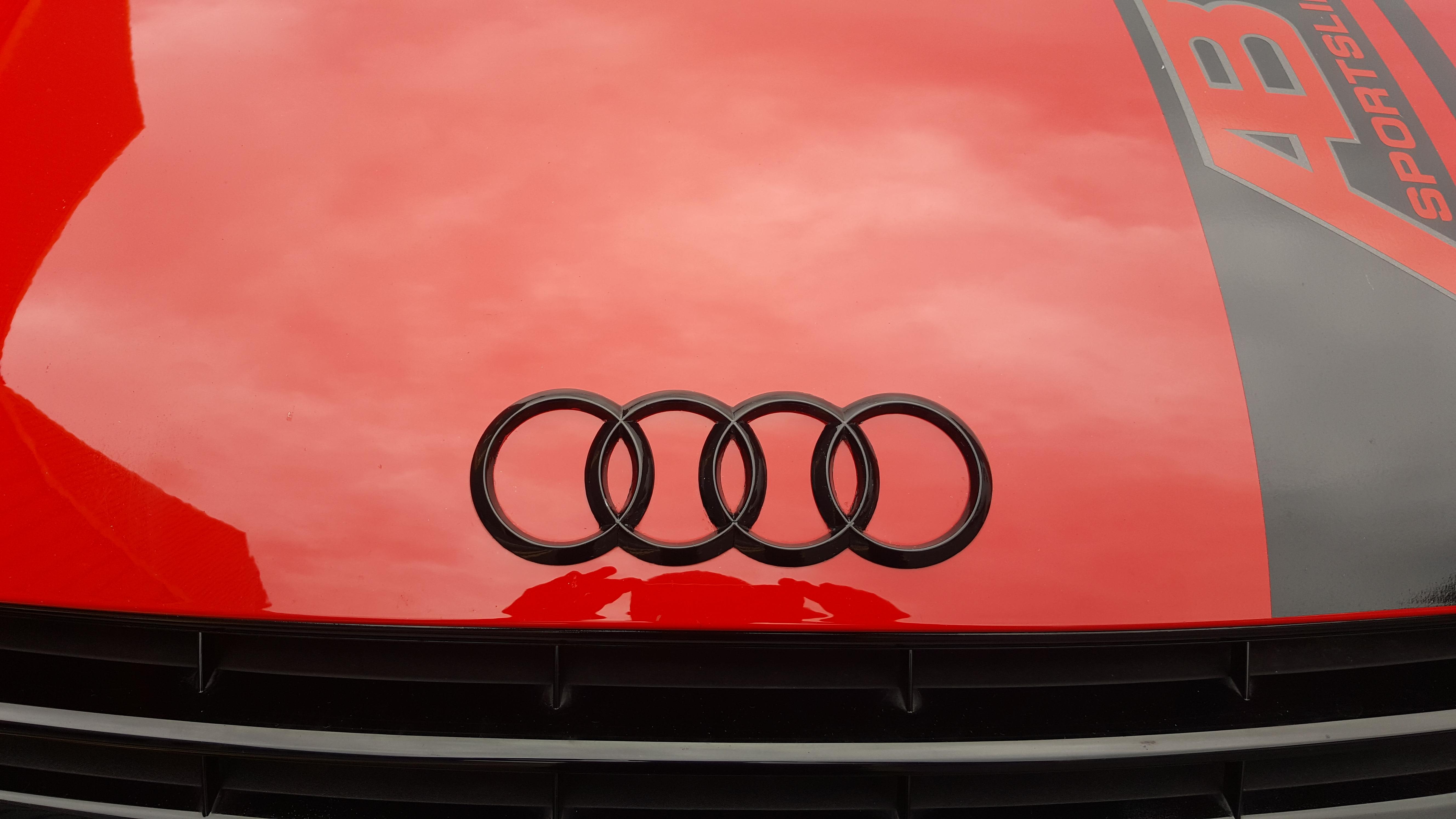 Audi TT Black Gloss Badge Wrap