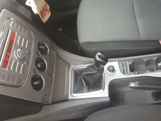 Ford Focus Centre console Wrap in Pink!