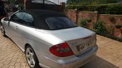 Mercedes 280 Sport 5% Limo Tint