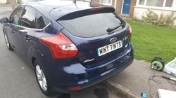 Ford Focus Mk3 Rear Window Tint